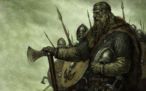 Skandinávští Vikingové podnikají v raném středověku vytrvalé kořistnické nájezdy na anglické pobřeží.