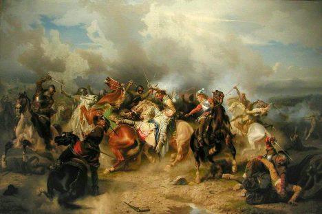Smrt Gustava II. Adolfa protestantům zkomplikuje situaci.