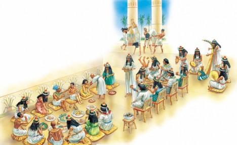 Starost o královskou jídelnu a řada dalších profesí znamená pro egyptské ženy uplatnění.
