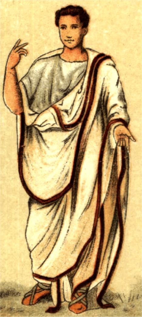 Tóga nebyla příliš pohodlným oblečením, a proto ji Římané moc rádi neoblékali.