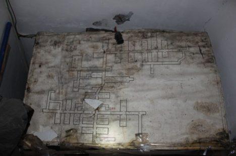 Map podzemního města je spoustu, vždy ale ukazují jen jeho malou část.