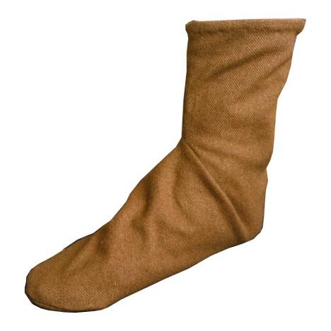 V 1. až 4. století n. l. už patřily ponožky mezi běžnou ochranu nohou.