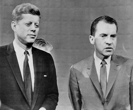 V televizních debatách má navrch Kennedy.