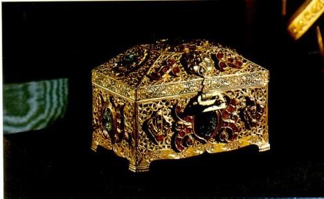 V tomto relikviáři má být uložen údajný zub samotného proroka Mohameda.