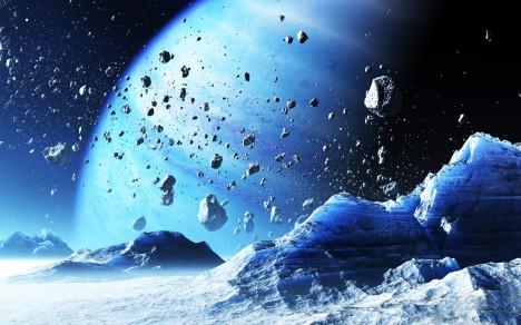 Vesmír je plný ledu, jak o tom svědčí řada těles ze sluneční soustavy