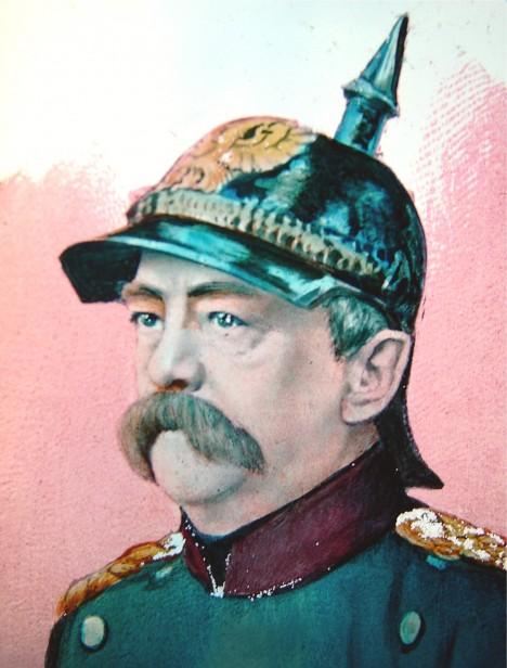 Voják a železný kancléř Otto von Bismarck nefandí socialistickým experimentům, ale chápe, že dělníkům je třeba pomoci.
