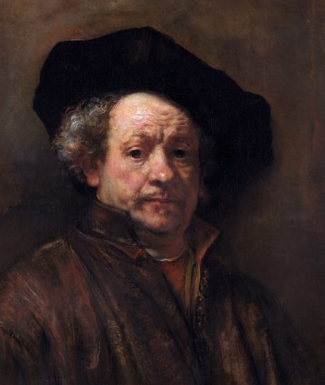 Self-Portrait *oil on canvas *80.3 x 67.3 cm *signed (l.l.): Rembrandt / f.1660
