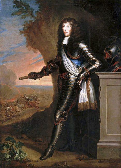 Za porážku Španělů si princ de Condé vyslouží velké uznání.