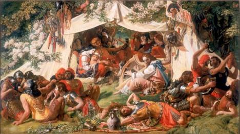 Za potulného pěvce se prý přestrojí sám Alfréd. Ve vikingském táboře chce zjistit záměry svého nepřítele.