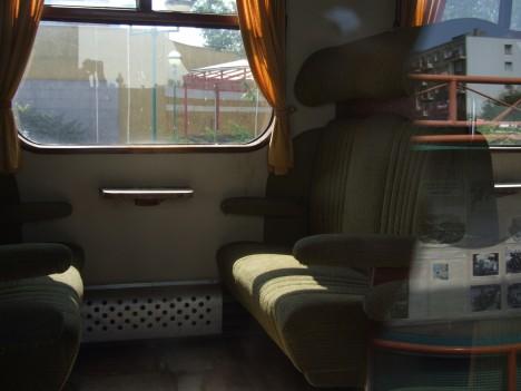 Za svůj interiér se vlak z poloviny 30. let 20. století nemusí stydět ani dnes.