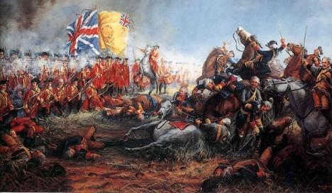 Za vlády Ludvíka XV. Francie ztratí většinu svých zámořských kolonií, v tzv. sedmileté válce.