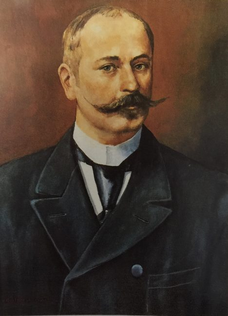 Zakladatel firmy Rodolphe Lindt dlouho experimentuje s tvrdou čokoládou.