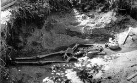 Zvláštní způsob provedení pohřbů budí dodnes pozornost veřejnosti.
