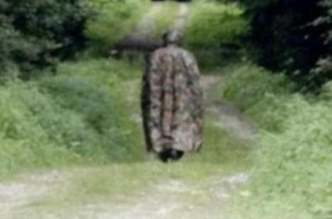 Fantoma se z dálky podařilo i vyfotit.