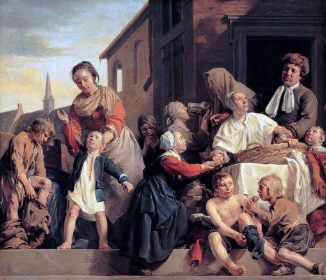 Nechtěné děti zpravidla skončí v sirotčinci.