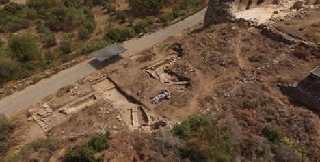 K nálezu mramorové hlavy došlo ve starobylém městě Antiochie ad Cragum na jihu Turecka.