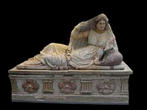 etruský sarkofág