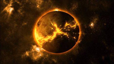 exploze planety