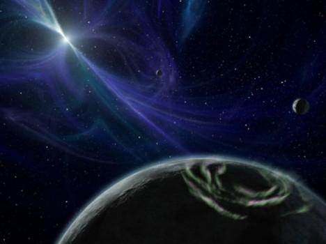Pulzary jsou jakési vesmírné majáky, které vyzařují pravidelné radiové signály.