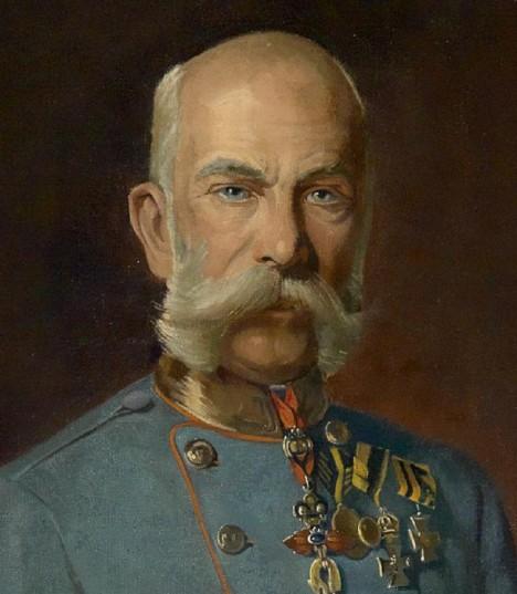 Rakousko-uherský císař František Josef I. si v lázeňském městečku rád pochutnává na oplatkách.