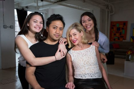 20/20 - A BARBARA WALTERS EXCLUSIVE - ABC News' Barbara Walters interviews Mary Kay Letourneau Fualaau and husband Vili Fualaau, on the eve of their 10th anniversary sharing intimate details about their headline-making marriage, which will air on 20/20 on FRIDAY, APRIL 10 (10-11 pm, ET) on the ABC Television Network. (Photo by Heidi Gutman/ABC via Getty Images) VILI FUALAAU, MARY KAY LETOURNEAU FUALAAU WITH THEIR DAUGHTERS AUDREY FUALAAU, GEORGIA FUALAAU