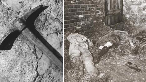 Podle vyšetřovatelů mohl být vražednou zbraní krumpáč nalezený nedaleko.