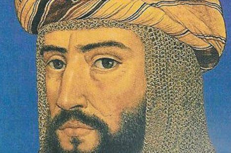 Na slavného muslimského vůdce Saladina si nepřišli. Ochránila ho kroužková košile.