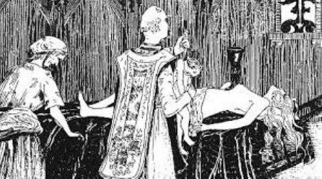 satanský rituál