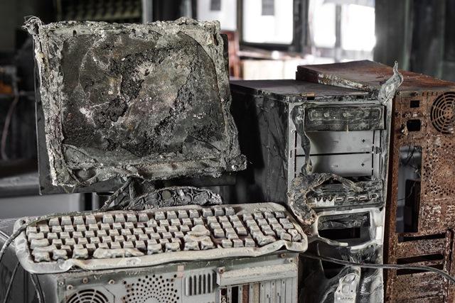 Naštěstí ke kolapsu počítačové sítě nikdy nedošlo.
