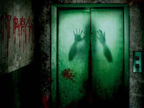 strašidelný výtah