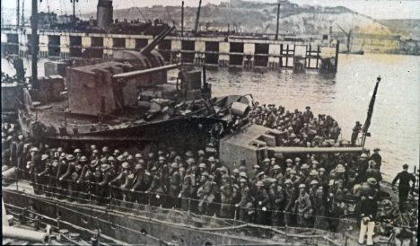 Británie měla díky evakuaci dost síly proti Němcům bojovat.