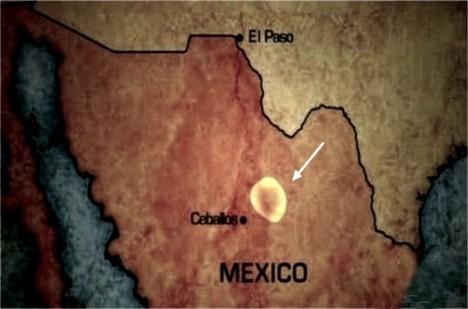 Zóna se nachází v centrálním Mexiku.