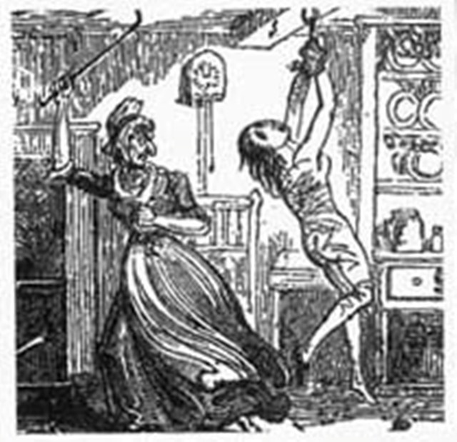 Kateřina měla ve zvyku týrat mladé služebné.