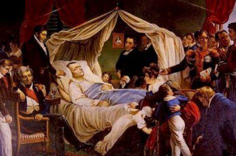 umírají Napoleon