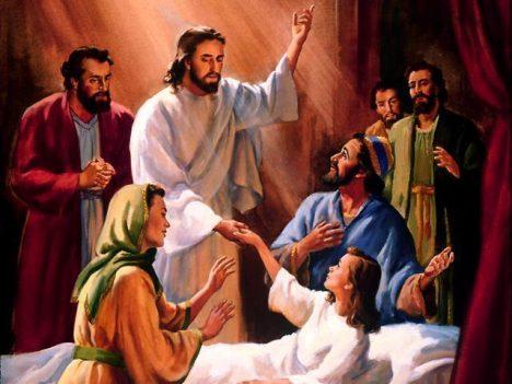vzkříšení dcery Jairovy