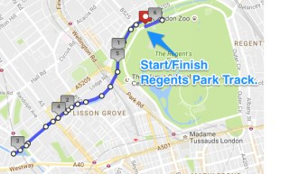 Little Venice 6km + HIIT3.9.16