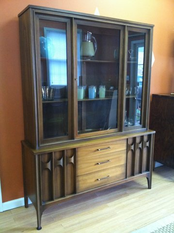 Mid centruy china cabinet by kent coffey at epoch - Signature interiors and design kent ...