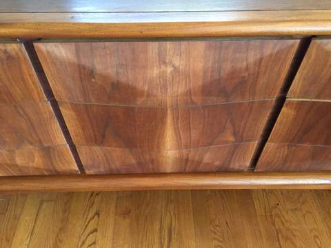 Mid Century Modern Dresser From The Diamond Series By
