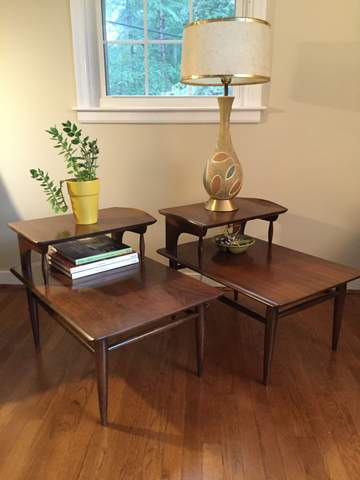 Mid Century Modern Side Tables Bassett Artisan Epoch