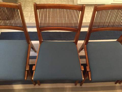 Mid Century Modern Dining Chairs By Drexel Profile Set Of 6 Epoch