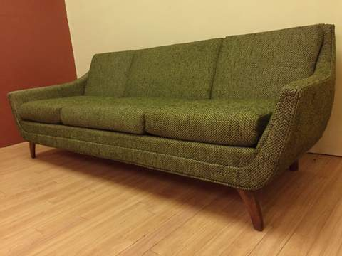 Mid Century Modern Sofa By Adrian Pearsall For Bassett