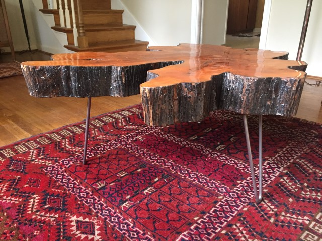 vintage-live-edge-cypress-table-hairpin-legs
