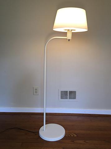 Mid Century Floor Lamp By Gerald Thurston For Lightolier Epoch