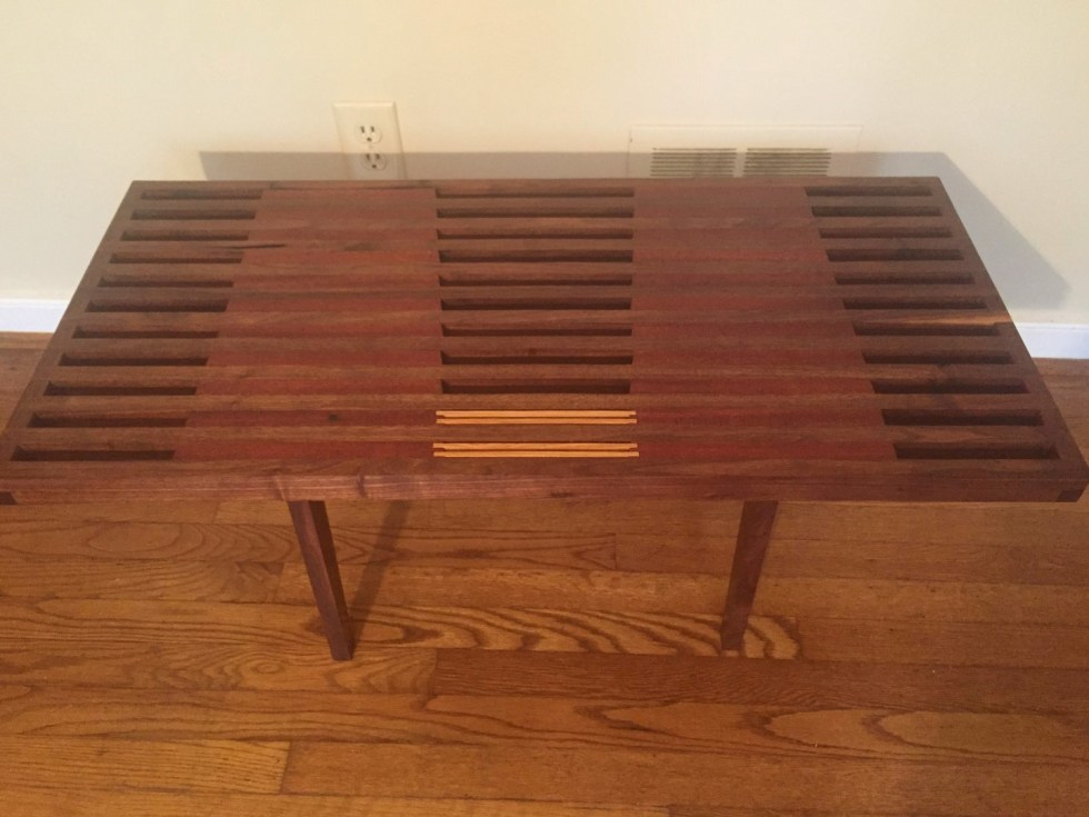 Handcrafted Coffee Table By Local Artisan Nathaniel