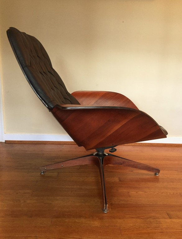 Vintage Mr. Chair Bent Wood lounge George Mulhauser Plycraft