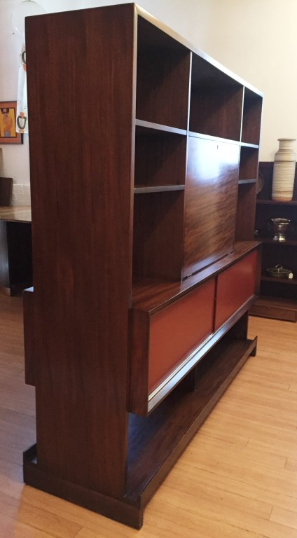 Mid Century Room Divider By Milo Baughman For Drexel Epoch