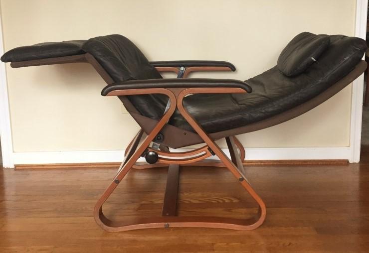 mid century modern zero gravity lounge chair Plycraft