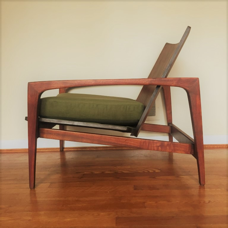 bentwood lounge chair mid century modern