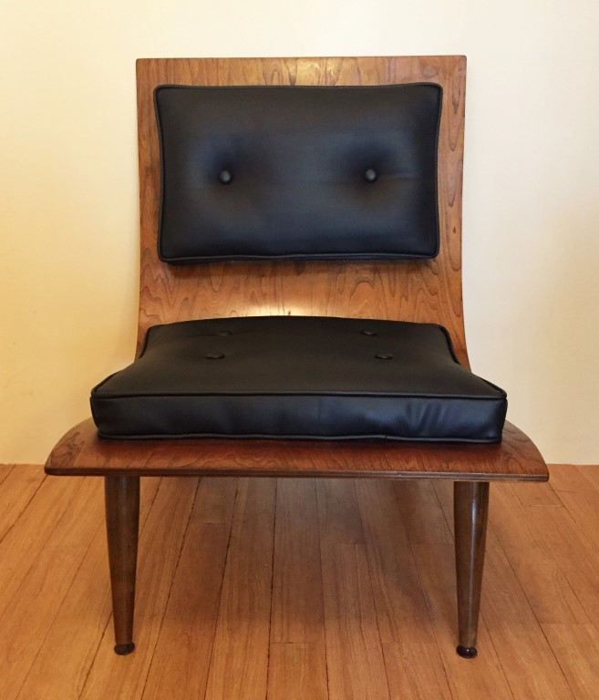Mid Century Modern Scoop Chair 2 Cushion Design Carter Brothers