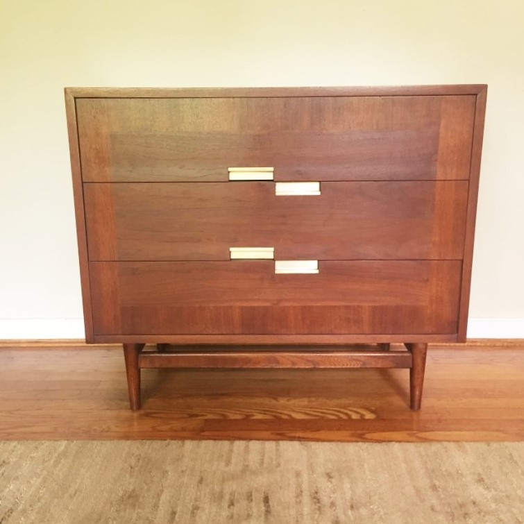 mid century chest of drawers american of martinsville